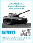 Fruilmodel - Leopard 1 Vorserie/Protype (German) Track Set