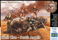 Masterbox Model - Desert Battle: Skull Clan Death Angles Women Warriors