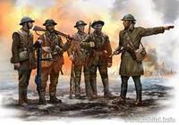 Masterbox Models - WWI British Infantry Somme Battle 1916