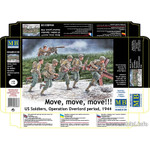 Masterbox Models - Move, Move, Move! US Soldiers Operation Overlord Period 1944