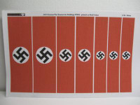 Reality in Scale German War Banners for Buildings
