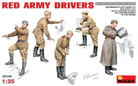 Miniart Models - WWII Red Army Drivers