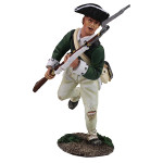 Wm. Britain: Clash of Empires: Loyalist Butler's Ranger Charging with Bayonet, 1780-1784