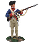 Wm. Britain: Clash of Empires: Continental Line/1st American Regiment Standing At Ready, 1777-1787