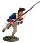 Wm. Britain: Clash of Empires: Continental Line/1st American Regiment Charging with Bayonet No.1, 1777-1787