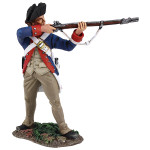 Wm. Britain: Clash of Empires: Continental Line/1st American Regiment Standing Firing, 1777-1787