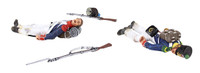 Wm. Britain French Line Infantry Casualty Set No.1