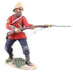 Wm. Britain: Anglo Zulu War: British 24th Foot Sgt. Bourne No.2, Parrying with Bayonet