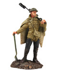"Wm. Britain ""The Work Party"" Set No.1 - 1916-18 British Infantry in Poncho"