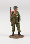 U.S. Airborne Infantry in M-43 Jacket, Winter 1944-45 No.1