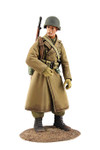 Wm. Britain  U.S. Airborne Infantry in Overcoat, Winter 1944-45 No.1