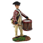 Wm. Britain Continental Line/1st American Regiment Drummer No.1, 1780-1784