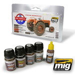 Ammo of MIG - Civil Vehicle Weathering Set - SALE