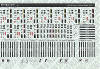 Hudson & Allen Studio - Waffen SS Division, Northwest Europe, 1944-45 -  1:16th Scale Decal