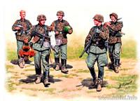 Masterbox Models - WWII German Elite Infantry, Eastern Front