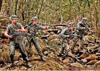 Masterbox Models - Jungle Patrol, US Soldiers, Vietnam War