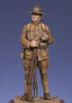 Metal Modeles  - American Infantryman 1917