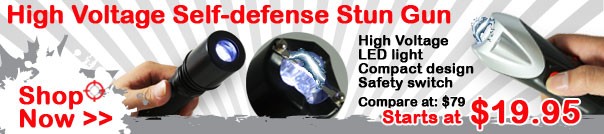 Stun Gun | Self Defense Weapon and Taser gun