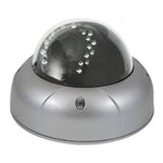 Vandal Proof 520 TVL Day & Night Dome Camera