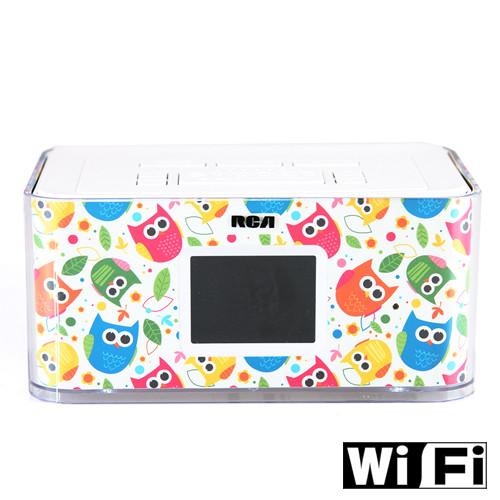 Wi-fi Alarm Clock Hidden Cameras