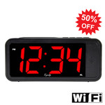 WiFi Alarm Clock Hidden Camera Easy to Set Up