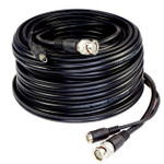 Five Star Cable ETL Listed 100 feet RG59 siamese cable for CVI, TVI, AHD and HD-SDI camera system with BNC connectors