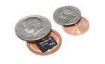 US Mint Quarter Micro SD Card Covert Coin