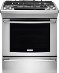 "Electrolux Wave-Touch 30"" Stainless Steel Slide-in Gas Range EW30GS80RS"