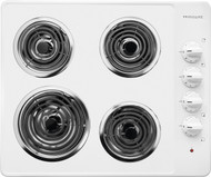 "Frigidaire 26"" White Electric Coil Cooktop FFEC2605LW"