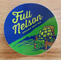 Full Nelson Circle Sticker
