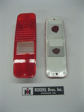 Late model Scout II tail light lens
