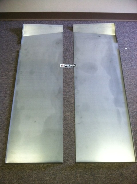 Front Strut Replacement Cost >> Scout II Replacement Steel Front Floor Panels - Roedel ...