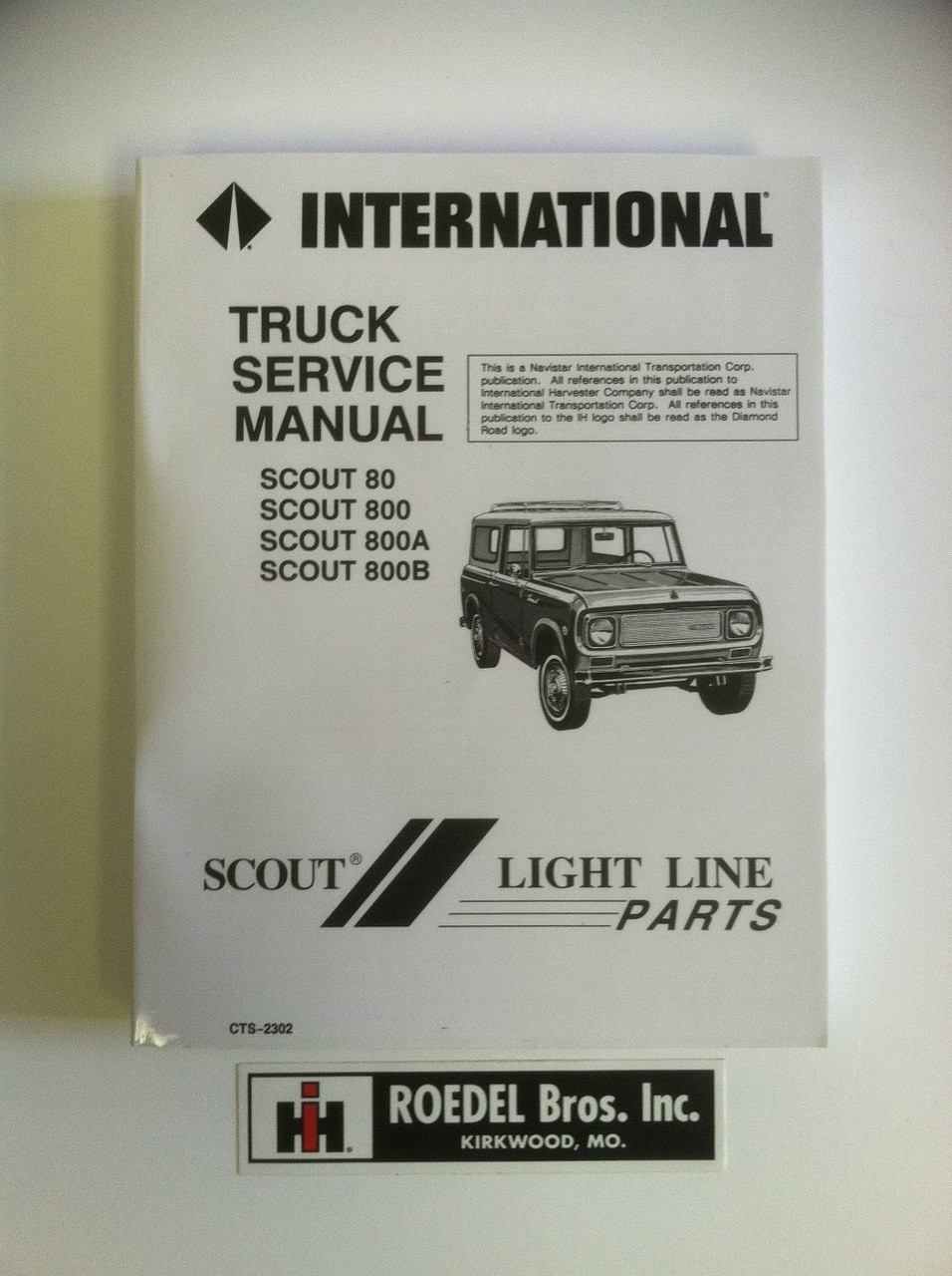 CTS-2302 Scout 80 Scout 800 Service Manual