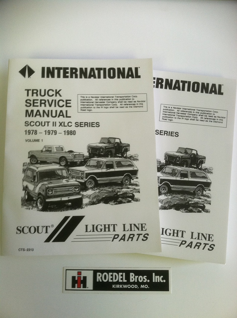 CTS-2313 1978-80 Scout II Service Manual