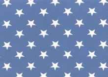 denim blue stars