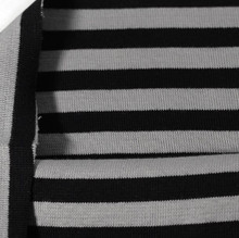 Black Grey Ribb