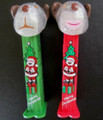 Barky and Barkina 2011 Christmas Pez box set from Australia