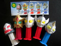 Mini Pez Ultraman II Bandai Set of 5 from Japan