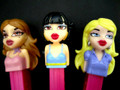 Bratz Pez Girls Original Set of 3, mint, loose