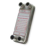 """BPDW415-80 Bell & Gossett (1"""" MPT) Heat Exchanger 5-707-15-080-002"""