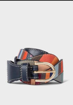 Paul Smith Women's swirl leather belt