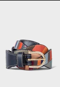 Paul Smith Women's swirl leather belt