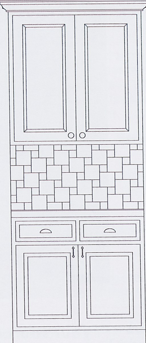 Kitchen Backsplash Idea #4