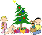 Christmas Tree with Kids
