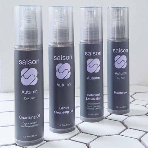 Saison 4 Step Organic Skincare