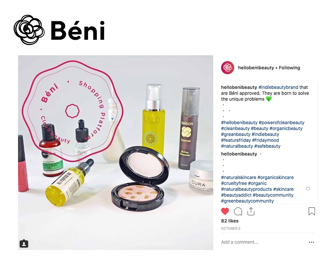Hello Beni Indie Beauty Brands With Saison Organic Skincare