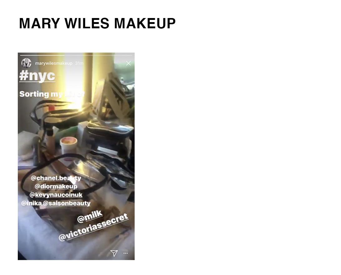 Mary Wiles Makeup For Victorias Secret Using Saison Organic Skincare