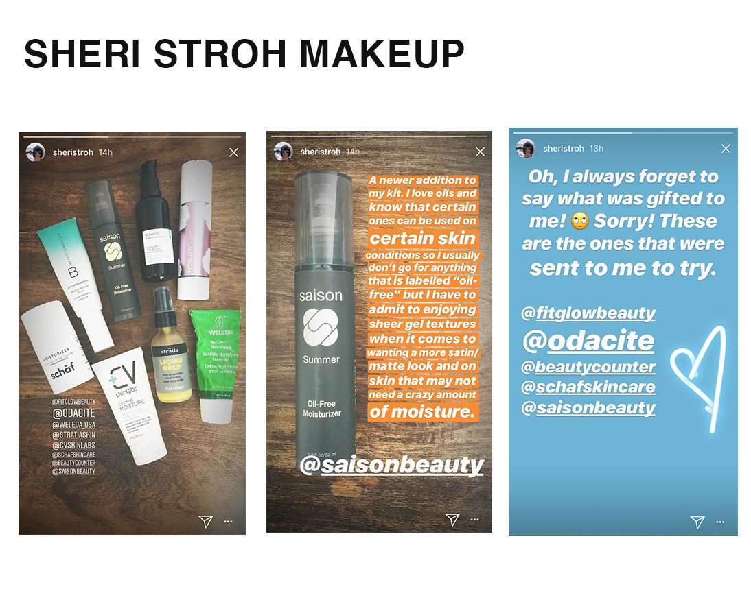 Sheri Stroh Makeup New Kit Additions With Saison Organic Skincare
