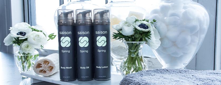 Saison Spring Organic Body Collection