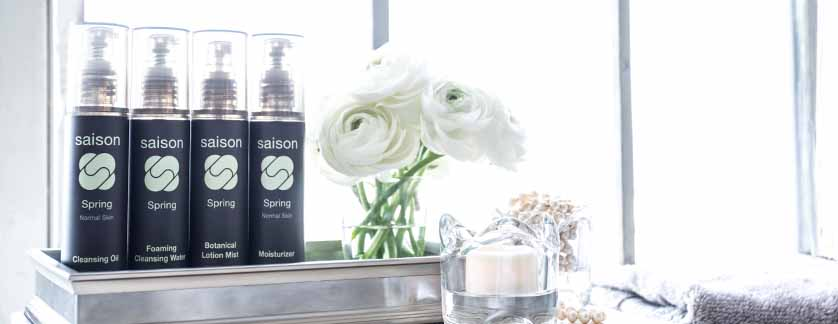 Saison Spring Organic Face Collection